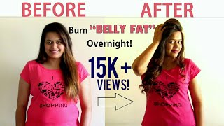 Burn Belly Fat Like Crazy | Drink Only One Cup Before Going to Bed