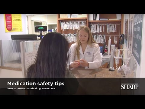 Medication safety tips: How to prevent adverse drug events