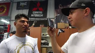 Mikey Garcia Reunites With (Elmo) Kid From Sparring Vid EsNews Boxing