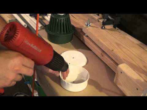 Making A PVC Drum Style Bowfishing Reel With Arrow Holder
