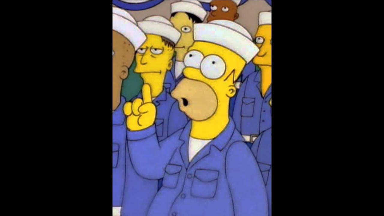 Simpsons nuclear submarine - YouTube