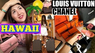 CRAZY 😜 FULL SHOPPING DAY IN 🌴 HAWAII (PART 1) | LOUIS VUITTON, CHANEL, HERMES, .. | ❤️ CHARIS