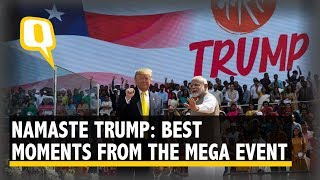 Bonhomie to Business: Highlights of Day 1 of Trump's India Visit | The Quint