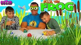 ✔ Игра Челлендж Моргающая Лягушка🐸 Fool The Frog ✔ Смешная игра Обмани Лягушку ✔ Глазастая лягушка