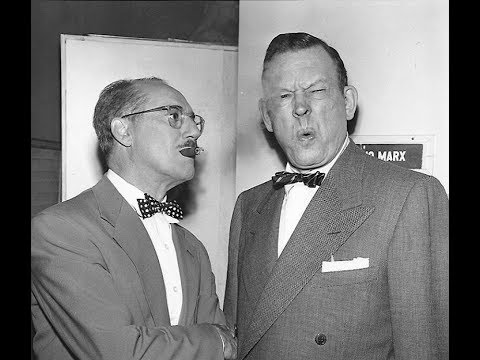 Fred Allen and Groucho Trade Ad Libs! 1952