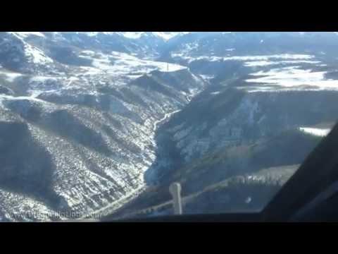 Telluride Airport Winter GIV Landing  KTEX  YouTube
