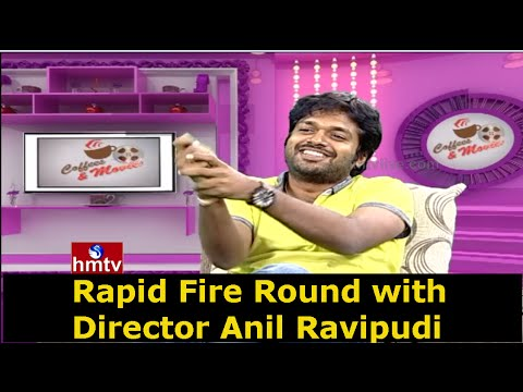 Rapid Fire Round with Director Anil Ravipudi | Exclusive Interview | HMTV