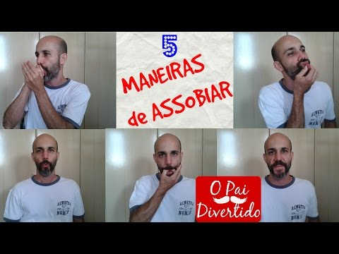 5 maneiras de assobiar - Tutorial