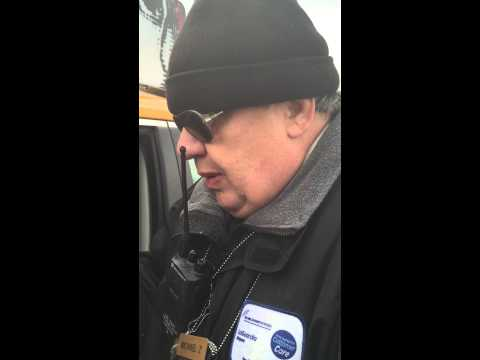 Laguardia Airport Taxi dispatcher crazy drunk/ LGA Airport Port Authority New York city