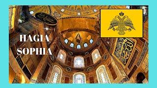 A tour inside Hagia Sofia (Ἁγία Σοφία, Ayasofya), Istanbul (Turkey)