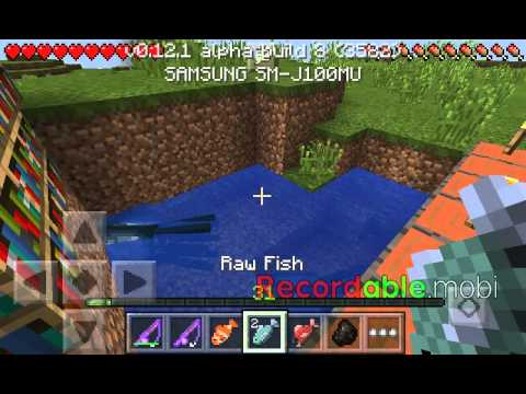 Fishing in minecraft pe fishing youtube for How to fish in minecraft pe