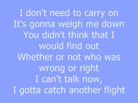 Flying Solo Chris Brown With Lyrics