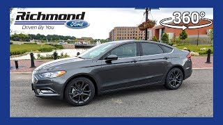 2018 Ford Fusion S 360 Degree Virtual Test Drive