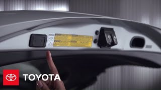 Rav4 How-to: Adjustable Power Rear Liftgate-basic Operation | 2013 Rav4 | Toyota