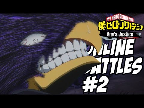 Fighting Addiction in My Hero Academia One\'s Justice: Tokoyami Online Battles #2