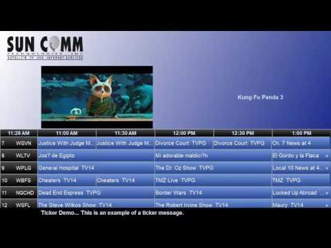 ONTV Media Pro with Ticker