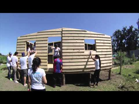 Cisneros Interactive and RedMas build a house with Techo, Argentina