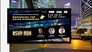 【Promotions】 Reopening the Asian Economies with Bloomberg & HKTDC | Jul 01, 2021