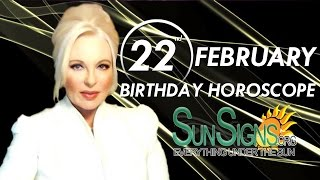 Birthday February 22nd Horoscope Personality Zodiac Sign Pisces Astrology