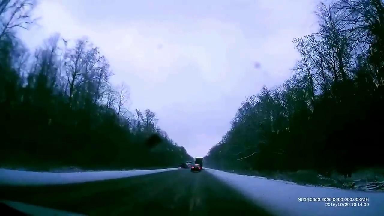 Авария на трассе Липецк   Елец...