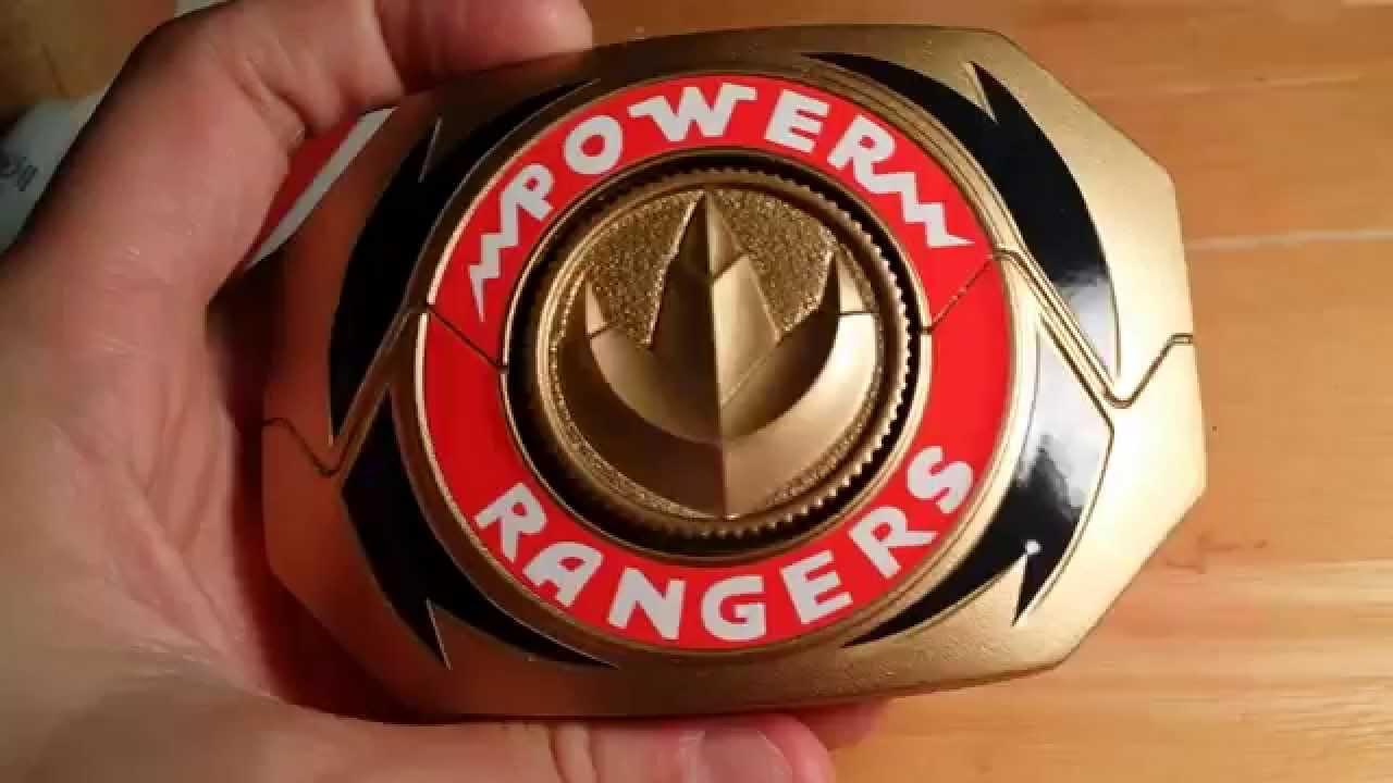 Green Mighty Morphin Power Ranger Morpher Belt Buckle