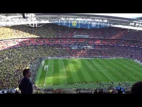 2013 UEFA Champions League Final: Pre-match atmosphere