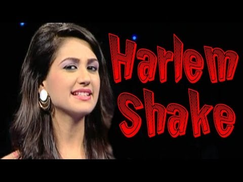 The Harlem Shake - Hot Indian TV anchor edition