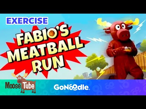 Fabio&39;s Meatball Run - Moose Tube  GoNoodle