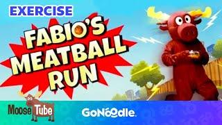 Baixar Fabio's Meatball Run - Moose Tube | GoNoodle