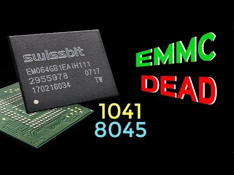 SP Flash Tool  Error 1041, 8045 / Emmc Is Dead - Example