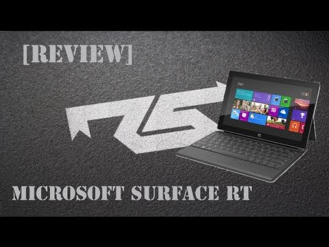 [Review] Tablet Microsoft Surface RT (português)