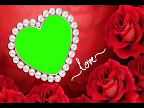 Whatsapp status videos banane ke liye love rose green screen wedding effect video status gif(4) thumbnail