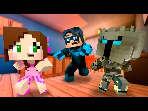 Thumbnail: Who's Your Daddy? PopularMMOs and Gaming with Jen BLOW UP! (Minecraft Baby Roleplay) Teen Titans GO!