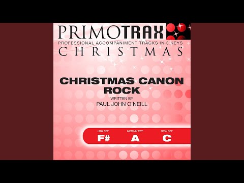 Christmas Canon Rock - Performance Backing Track