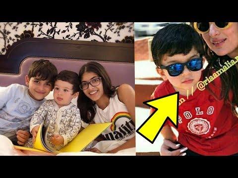 Taimur Ali Khan enjoying his 2nd birthday with Kareena Karisma Kapoor kids |HBD Taimur