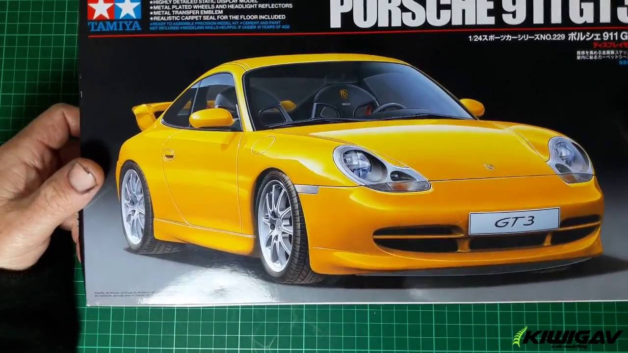 Tamiya Porsche 911 GT3 unboxing - YouTube