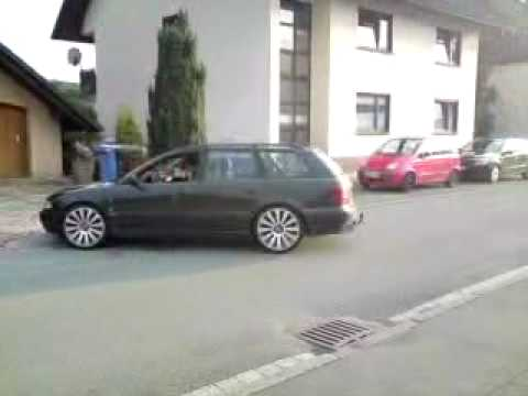 audi a4 b5 1 8 auf 8 5x19 er mam 8 felgen youtube. Black Bedroom Furniture Sets. Home Design Ideas