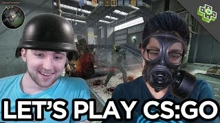 Playing Counter-Strike for the First Time with the Help of an Expert