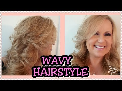 20 Minute Glam Farrah Fawcett Hair Tutorial