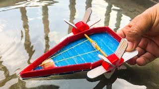 Science Projects | Rubber Band Powered Boat