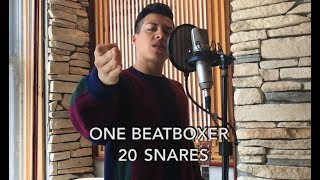 One Beatboxer, 20 Beatbox Snares