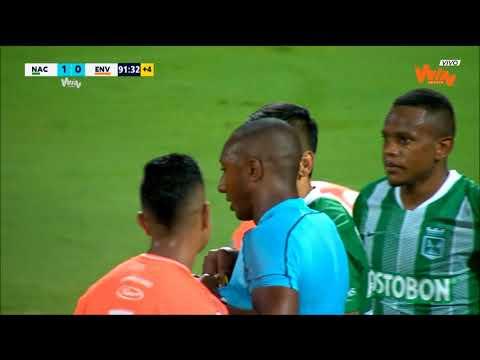 Nacional vs Envigado   (1-1) Liga Aguila 2019-II   Fecha 19 from YouTube · Duration:  3 minutes 18 seconds