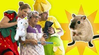 فوزي موزي وتوتي – البسة والفأر  – Cat and mouse