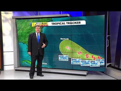 Tracking Hurricane Florence