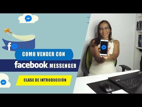 Como Vender Con FACEBOOK MESSENGER🔥CHATBOTS DE FACEBOOK PARA VENDER