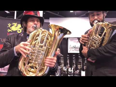 Wessex tornister tubas Jazz at NAMM 2017