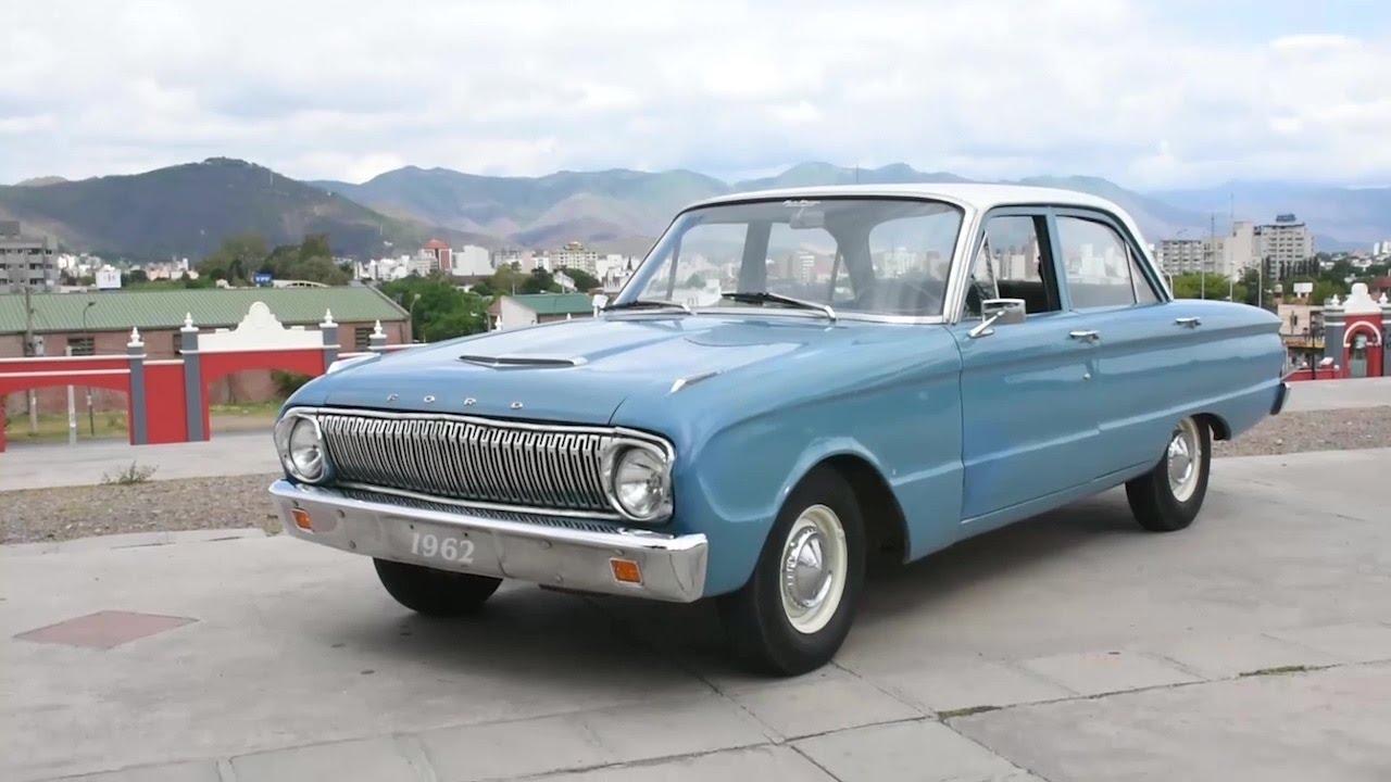 Ford falcon modelo 1962