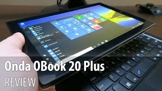 Onda OBook 20 Plus Review (10.1 inch Dual Boot Tablet and Onda Keyboard)
