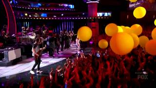 Paramore & Jena Irene - Ain't It Fun - American Idol 13 Finale