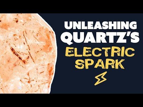 Unleashing Quartz's Electric Spark
